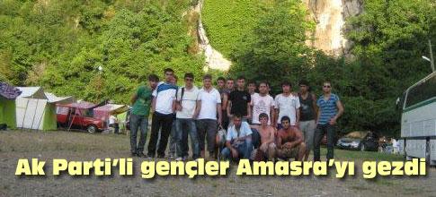 AKP Gölbaşı İlçe Teşkilatı Gençlik Kolları Amasraya gezdi...