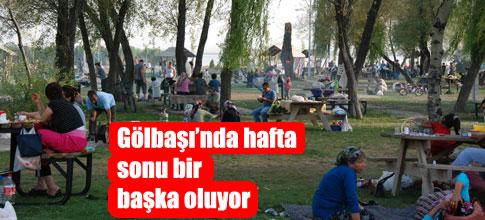 Ankara 'nın en gözde mesire yerleri GÖLBAŞI'nda