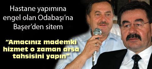 """AMACINIZ MADEMKİ HİZMET, ARSA TAHSİSİNİ YAPIN"""