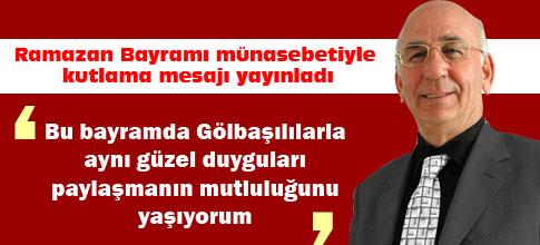 DP İlçe Başkanı Mümtaz Sarıtaş kutlama mesajı yayınladı
