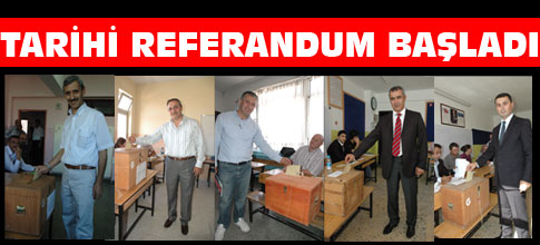Tarihi referandum oylanıyor