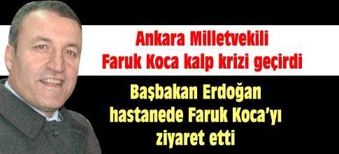 Erdoğan, hastaneye kaldırılan Ankara Millevkili Kocayı ziyaret etti