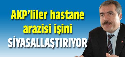 AKP bu işi siyasallaştırıyor
