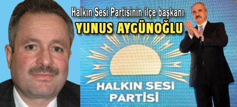 Kurtulmuşun temsilcisi Yunus Aygünoğlu