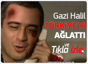 Önce Vatan dizisi Gazi Halil'in konuşması