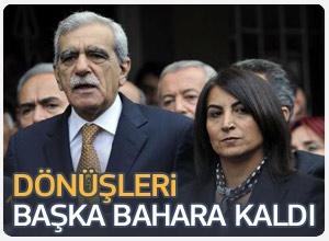 TBMM Başkanlığı Ahmet Türk ve Aysel Tuğluk'un talebine yanıt verdi