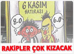 Fenerbahçe taraftarının 6 Kasım Hatırası pankartı rakiplerini kızdıracak