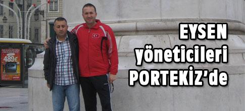 EYSEN Yöneticileri Portekizde