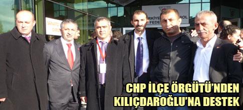 CHP İlçe Örgütünden Kılıçdaroğluna destek