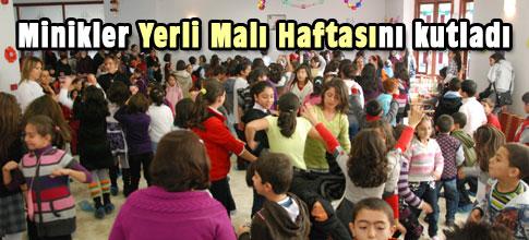 Miniklerden Türk Malları Haftası