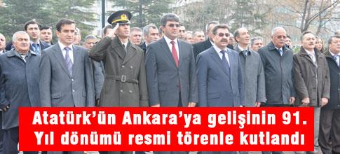 Atatürk ,Başkent Ankara'da