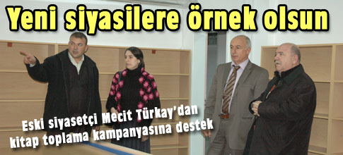 Türkaydan kitap toplama kampanyasına destek