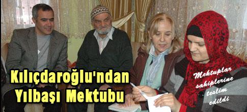 Kılıçdaroğlundan yılbaşı mektubu