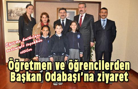 Öğrencilerden Başkan'a Ziyaret