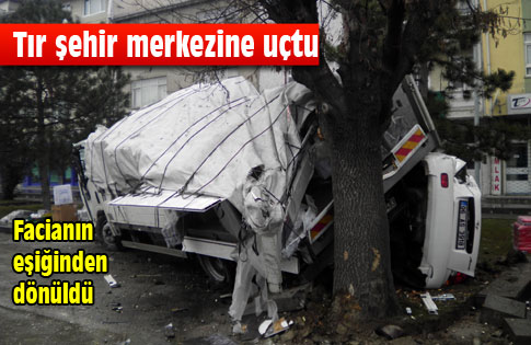 Konya Yolunda Trafik Kazası
