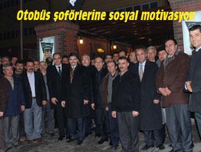 OTOBÜS ŞOFÖRLERİNE SOSYAL MOTİVASYON