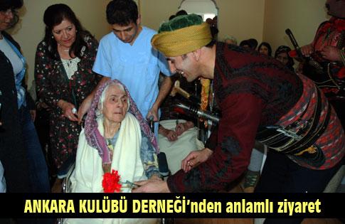 Ankara Kulübü Gölbaşı Şubesinden Anlamlı Ziyaret
