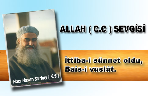 ALLAH (CC) SEVGİSİ