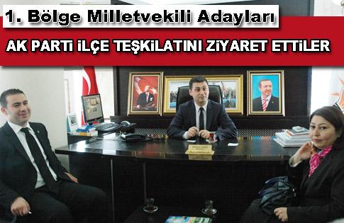 AK Parti Ankara 1. Bölge Milletvekilleri Gölbaşı İlçe Teşkilatını Ziyaret Etti