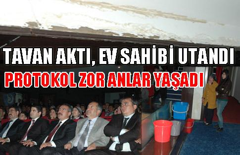 TAVAN AKTI, EV SAHİBİ UTANDI...