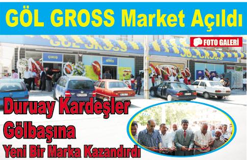 Göl Gross Market Açıldı