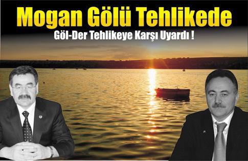 Mogan Gölü Tehlikede