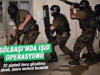 Gölbaşı'nda IŞİD operasyonu