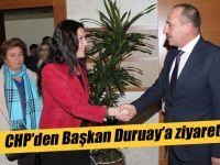 Başkan Duruay'a CHP İlçe Başkanından Ziyaret