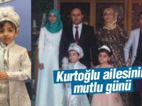 Erdoğan Kurtoğlu, oğlunu sünnet ettirdi