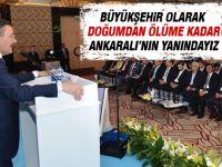 Başkan Gökçek İdeal Kentler Zirvesi'nde konuştu
