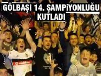 Beşiktaş'ın şampiyonluğu Gölbaşı'nı sokağa döktü