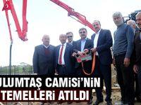 Başkan Duruay Tulumtaş Mahallesi Camisi'nin Temelini Attı