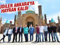 Suudiler Ankara'yı gezdi