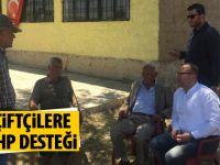 Çiftçilere CHP desteği