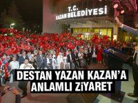 Bilal Erdoğan'dan anlamlı ziyaret