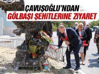 Çavuşoğlu Gölbaşı Özel Harekat Başkanlığını ziyaret ettiKaynak: Çavuşoğlu Gölbaşı Özel Harekat Başkanlığını ziyaret etti