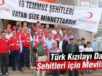 Türk Kızılayı Darbe Şehitleri için Mevlit okuttu