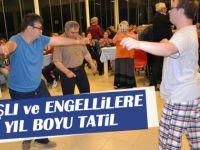 Büyükşehir'den yaşlı ve engellilere yıl boyu tatil