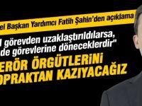 """Fatih Şahin; """"""""FETÖ soruşturmasında haksızlığa uğrayanlar görevlerine geri döneceklerdir"""""""