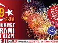 Büyükşehir'den 29 Ekim için coşkulu kutlama