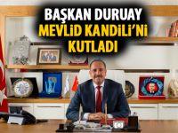 Fatih Duruay'dan kandil mesajı