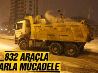 Ankara'da yoğun kar yağışı