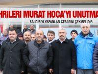 Yozgatlılar Murat Hoca'ya yapılanı kınadı
