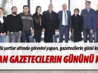Duruay 10 Ocak Çalışan gazeteciler gününü kutladı