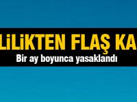 Ankara Valiliği bir boyunca yasakladı