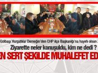 Gölbaşı Yozgatlılar Derneği'nden CHP İlçe Başkanlığı'na ziyaret