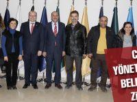 CHP yönetimi belediyeyi ziyaret etti