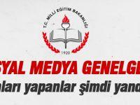 MEB'den 'sosyal medya' genelgesi