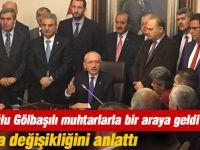 CHP Genel Başkanı Kemal Kılıçdaroğlu Muhtarlarla Buluştu