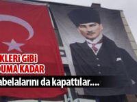 CHP parti tabelasını da kapattı
